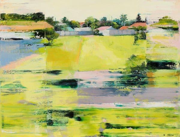 Boundary 2017 Oil on canvas 50x60cm