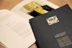 Solo Studios 2017 Linocut Project Catalogue