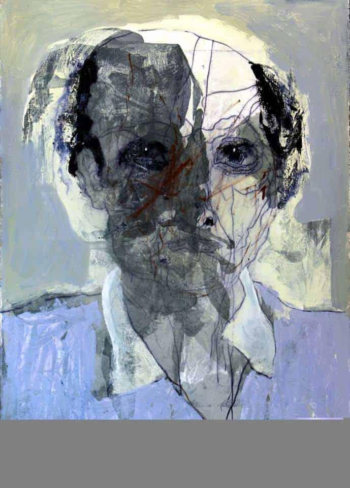 Andre van Vuuren oil on paper 2