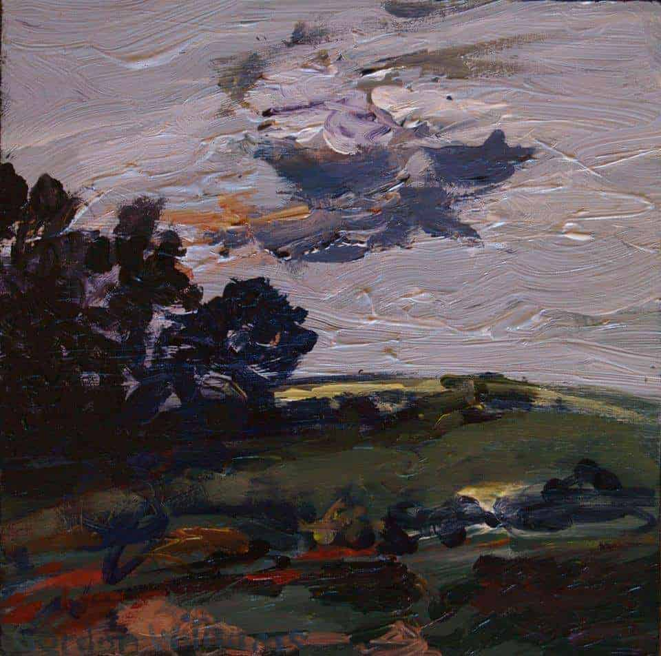 Gordon Williams acrylic on canvas 2