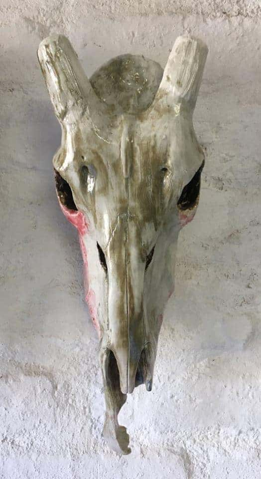 Li Nepgen Ceramic Skull 2