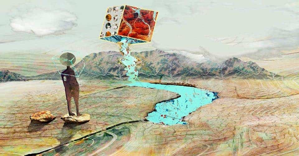 Louisa Gerryts at a loss Digital print