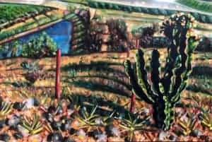 Tamlin Blake : First Impression 2018. Oil on Canvas 40 x 60 cm