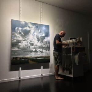 Philip Barlow in studio
