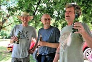 Raymond Oberholzer, Ivan Kirstein and Gordon Williams