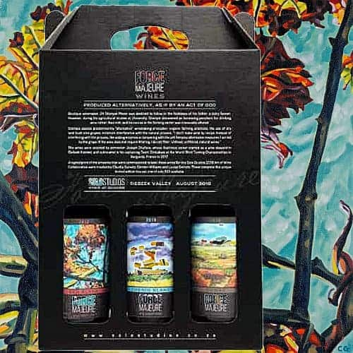 Limited Edition Box Force Majeure Wine and Art Solo Studios 2018