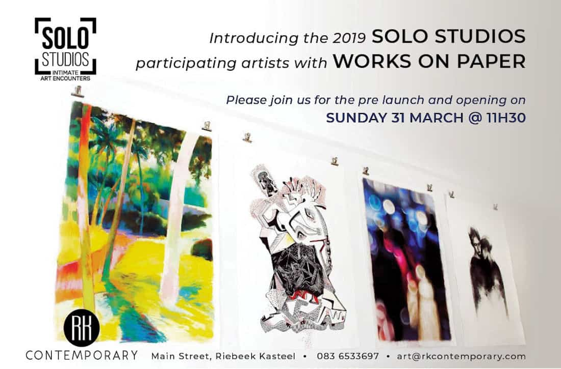 RK Contemporary Solo Studios Works on Paper