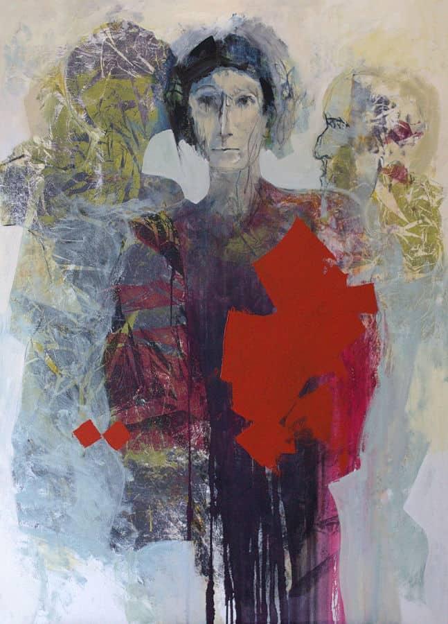 Ghosts 2019. Oil on Belgian linen. 180 x 130 cm