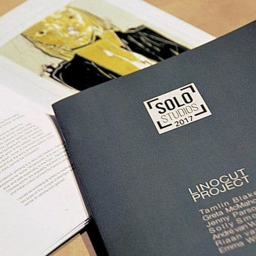 Solo Studios Linocut Project