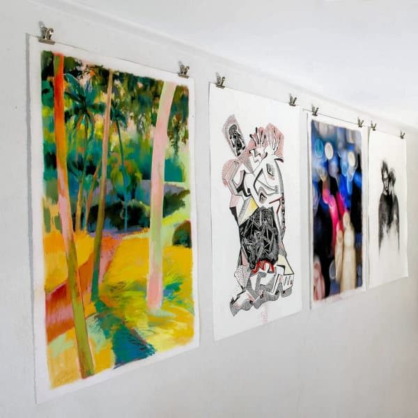 Works on Paper exhibition by Solo Studios Artists 2019